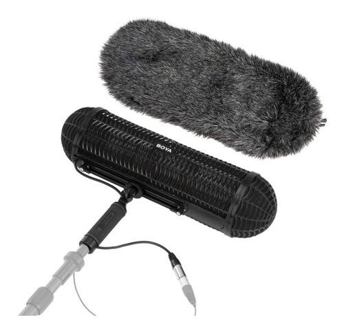 Imagen 1 de 10 de Paravientos Dead Kitten Suspension P/ Microfono Shotgun Boya