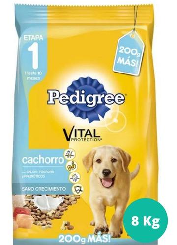 Alimento Pedigree 8 Kg Para Cachorros