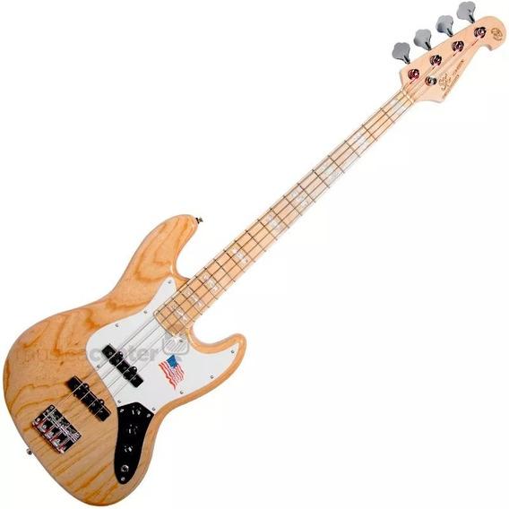 Contra Baixo Jazz Bass Sx Sjb75 Passivo 4 Cordas Natural