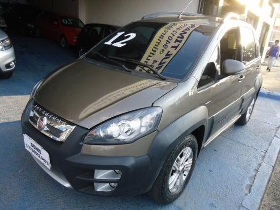 Fiat Idea 2012 1.8 Flex Automática Cinza