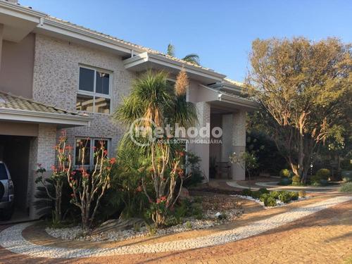 Casa Venda Condomínio Alphaville Dom Pedro Campinas Sp - Ca00596 - 68854009