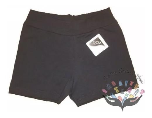 Mini Short Calza Corta Algodon Y Lycra