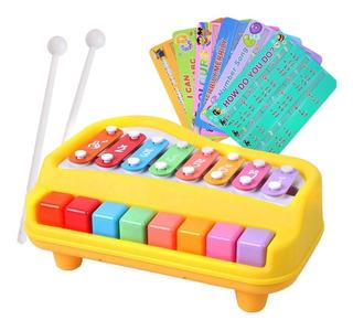 Juguete Para Bebé Piano Y Xilófono Juguete Musical