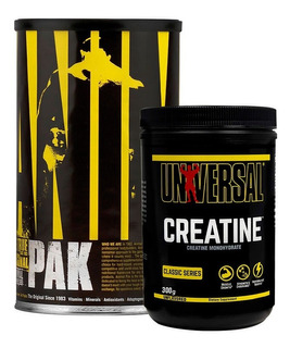 Animal Pak 44 Packs + Creatine 300 Grs Universal Nutrition