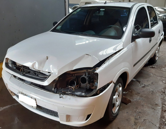 Chevrolet Corsa Ii 1.8l 4p Gl Aa+dir -2008- Chocado-funciona