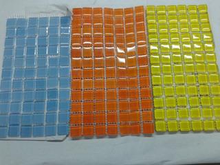 Mallas De Vidrio 30x30 Diferentes Colores