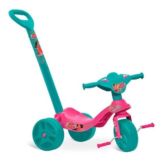 Triciclo Infantil C/ Empurrador Estilo Motoca Velotrol