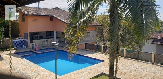 Chácara Com 5 Dormitórios Para Alugar, 1300 M² Por R$ 5.500/mês - Haras El Pasos - Mairiporã/sp - Ch0003
