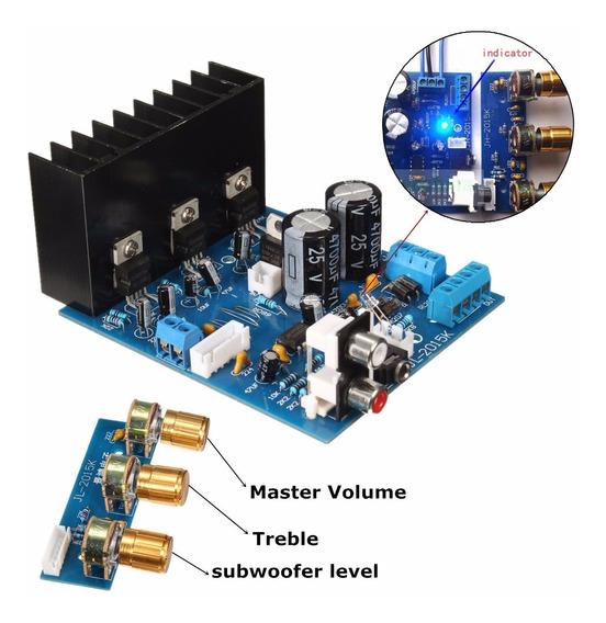 1 Pcs Tda2030a 2.1 Subwoofer Placa Amplificador Ac 12 V 3 Ca