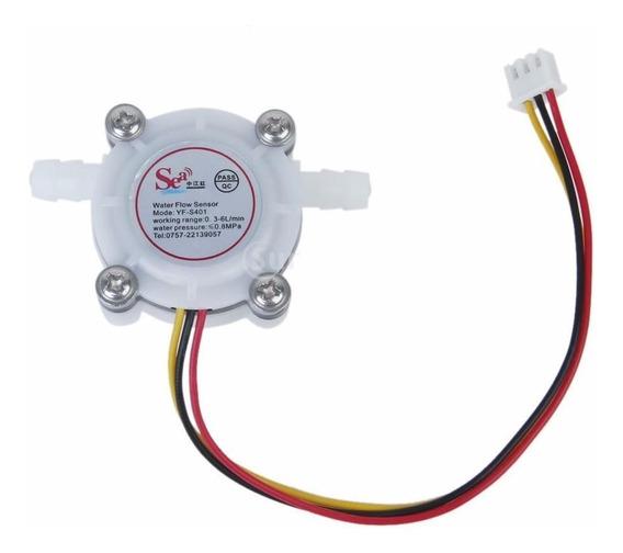 Sensor Hall Medidor De Fluxo Água 1/4 0.3-6l/min 0.8mpa