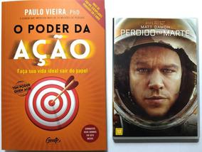 Livro O Poder Da Ação + Brinde Dvd Perdido Em Marte