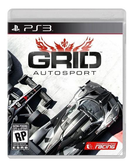 Jogo Grid Autosport Ps3 Mídia Física Usado