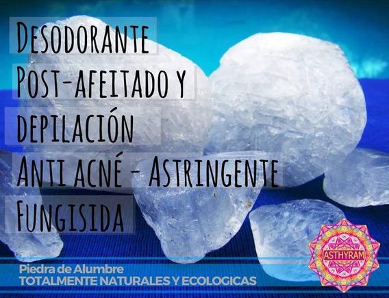 Piedra De Alumbre De Potasio Natural Oferta 175 Gr