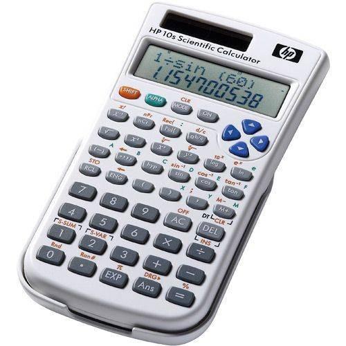 Calculadora Hp 10s