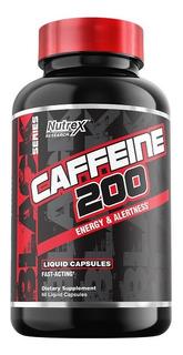 Caffeine 200mg Nutrex 60 Caps Importado Eua Pronta Entrega