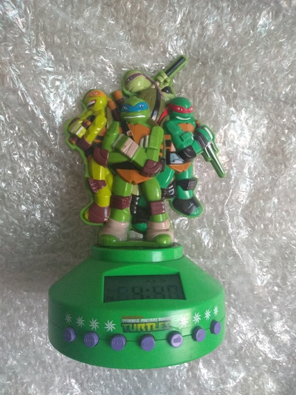 Reloj Y Radio De La Tortugas Ninja