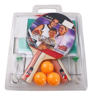 Set Tenis De Mesa Joerex Ping Pong Completo