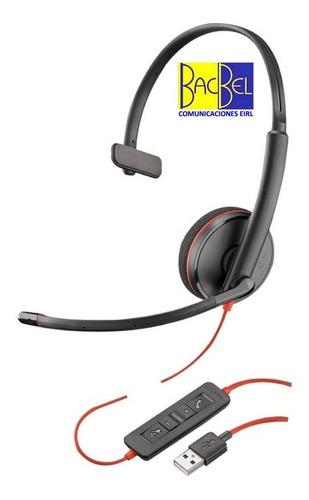 Plantronics - Auricular Blackwire C3210 Usb - Call Center