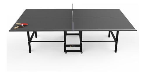 Mesa de ping pong Silcar Mesa de ping pong gris grafito