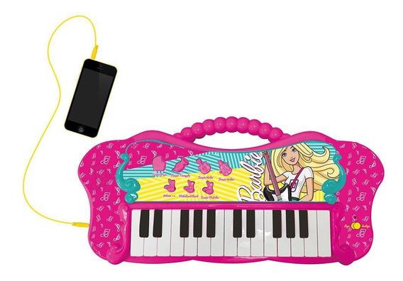 Barbie Teclado Fabuloso Com Função Mp3 - Fun Divirta-se