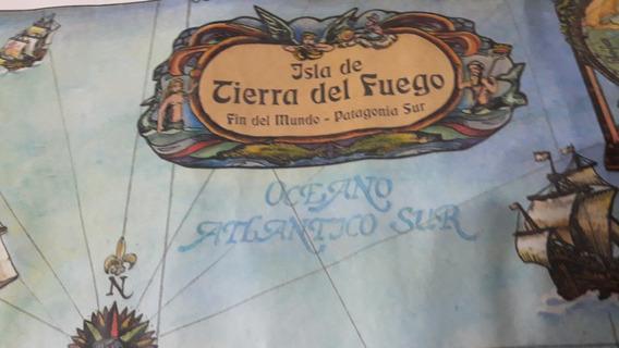 Mapa Naufragios Registrados Tierra Del Fuego Caba