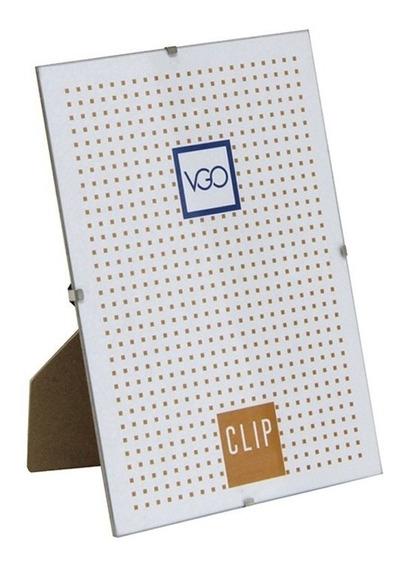 Portaretrato Clip 20x30cm Vidrio Vgo