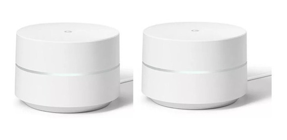 2 Pack Sistema Google Home Wifi Point Nuevo Original