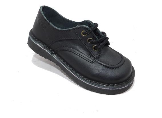 Calzado Colegial De Cuero Varon -calzados Union- Art 580