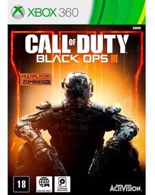 Call Of Duty Black Ops 3 - Xbox 360 - Novo - Mídia Física