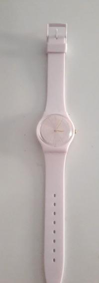 Relógio Swatch - Cor Rosa Bebê