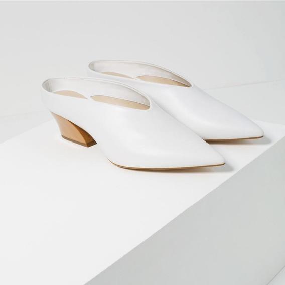 Zapatos Zara Mule Suecos No Mishka Ginebra Chebar Sarkany