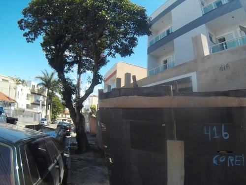 Apartamento Com 59,95 M² Sendo 2 Dormitórios, 1 Suíte, 1 Vaga À Venda Por R$ 357.000 - Campestre - Santo André/sp - Ap2368