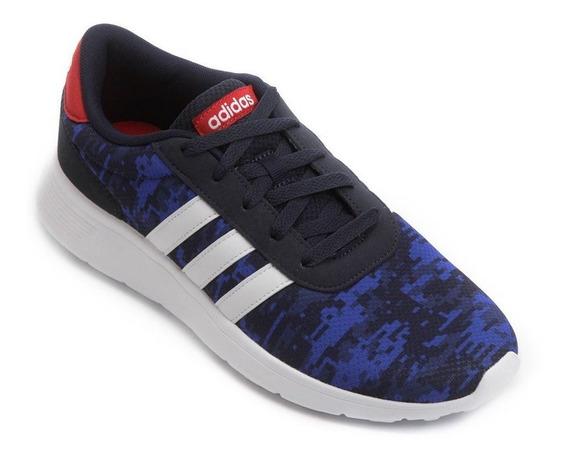 Tenis adidas Hombre Azul Lite Racer Cg5730