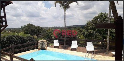 Imagem 1 de 22 de Chácara Com 4 Dormitórios À Venda, 3000 M² Por R$ 725.000,00 - Condomínio Monte Verde - Itu/sp - Ch0042