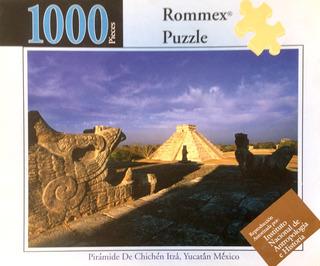 Rompecabezas De 1000 Piezas: La Pirámide De Chichén Itzá
