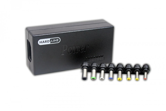 Fonte Universal Para Notebook Com 8 Conectores Hardline Nfe