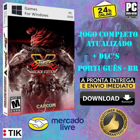 Street Fighter V Arcade Edition - Completo - Português (br)
