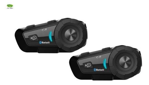 Intercomunicador X2 Bluetooth Moto Scs S8 Radio Fm Casco