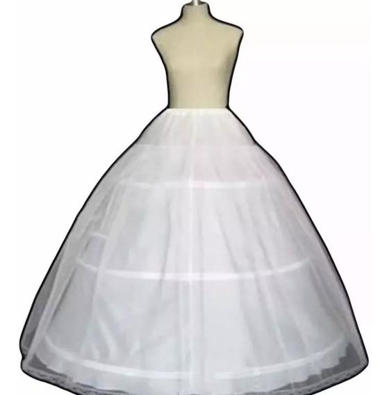 Anágua Saiote Armação Para Vestido De Noiva Debutante 3 Aros