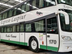 Micro Ómnibus Scania K380 Troyano 2009 62 Pax Semi-cama