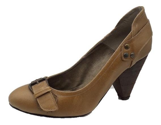 Zapato Clásico Cuero Moda Bahia 650