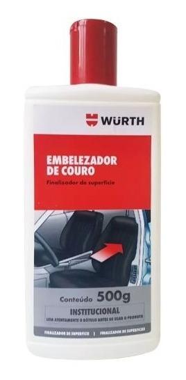 Hidratante E Limpa Couro Embelezador Wurth 500 Ml