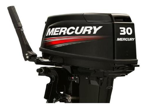 Imagen 1 de 14 de Motor Mercury 30 Hp Fuera Borda 2 Tiempos Garantia Nautica