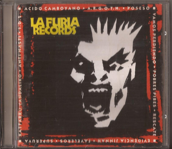 La Furia Records Cd Superuva Katarro Vandaliko
