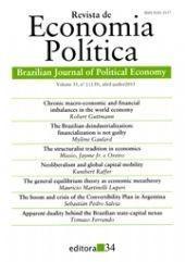 Revista De Economia Politica, Vol. 35, No 2 (138), Janeiro/m