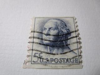5c U.s.postage Estampilla Sello Correo Usa L5