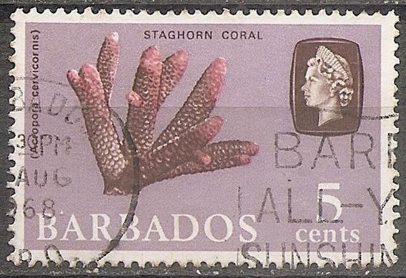 Barbados Colonia Britanica - Coral Yvert 247