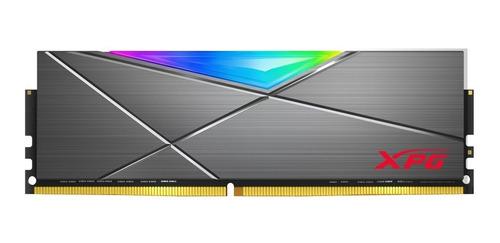 Imagen 1 de 5 de Memoria Ram Ddr4 8gb 3600mhz Xpg Spectrix D50 Rgb