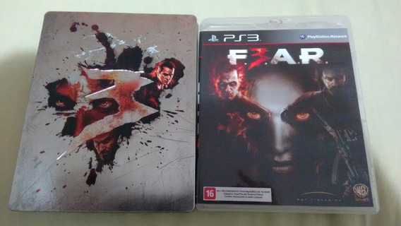 Fear 3 Ps3 Com Steelbook Deslacrado
