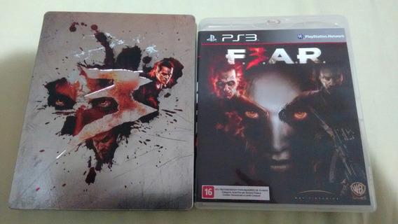 Fear 3 Ps3 Deslacrado Com Steelbook , Para Colecionador !!